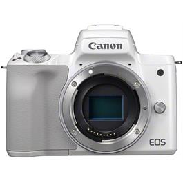 Canon EOS M50 Mirrorless Camera Body - White thumbnail